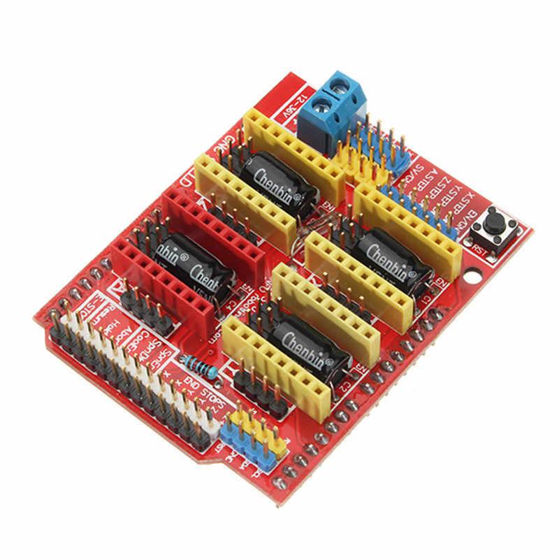 4xA4988 ステップモータドライバモジュール + CNC シールド V3 拡張ボード + R3 ボードキットのため Arduino 3D Printe