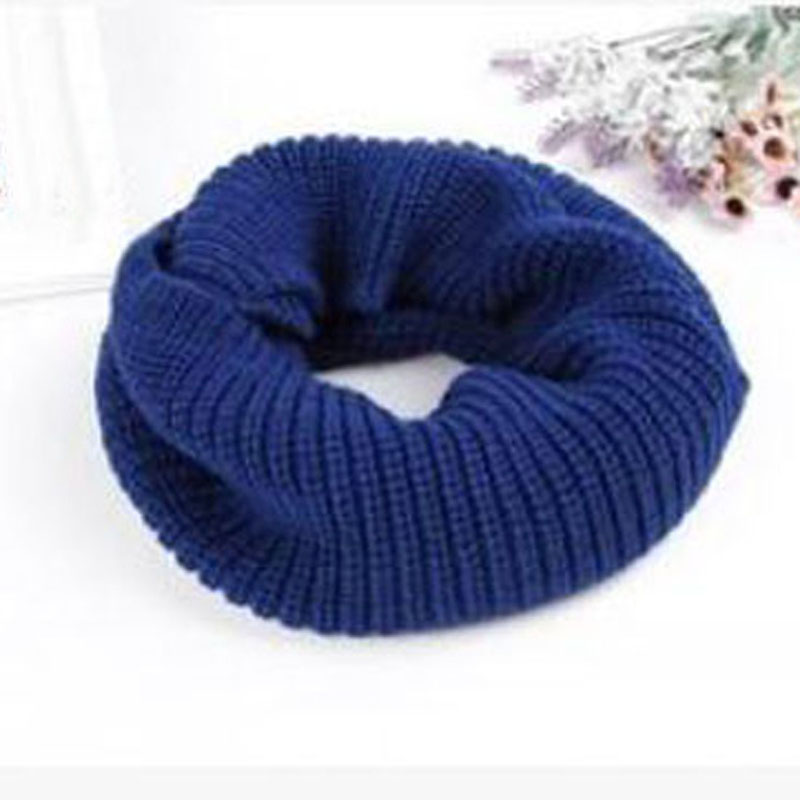 Drop shipping Shujin 2019 winter new fashion around two round collar collar wool scarf Warm and comfortable hooded wool scarf