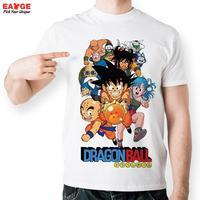 EATGE Fashion Anime T Shirt Dragon Ball Z Comics T Shirt Young Characters Tshirt Style