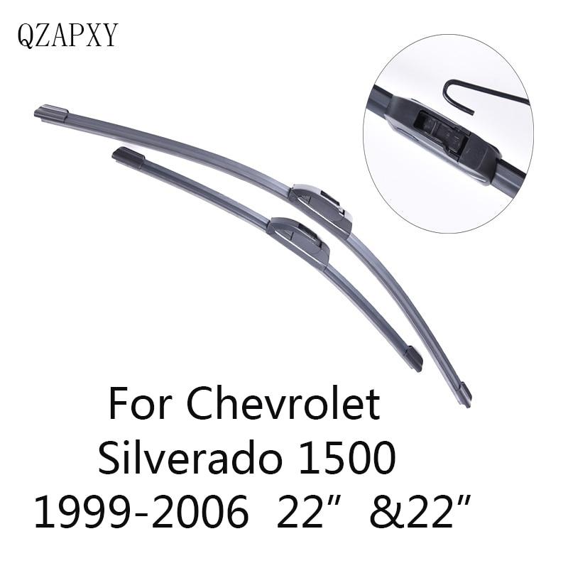 QZAPXY Car Wiper Blades for Chevrolet Silverado 1500 22