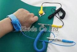 Envío Gratis Anti-estática de 400*2 300mm antiestático manta alfombrilla ESD para el trabajo de reparación + tierra alambre + muñeca