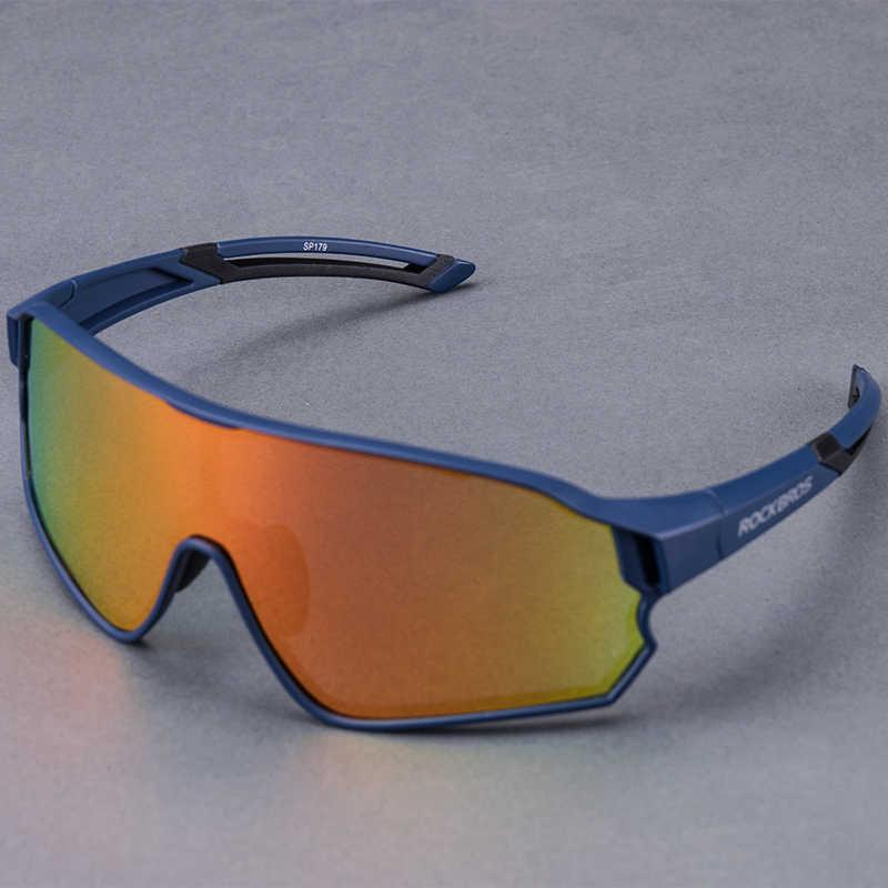 ROCKBROS Outdoor Sports Cycling Polarized Sunglasses 100/% UV400 Goggles Glasses