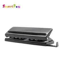 Хорошее Adjustable 6-Hole Punch 6 Holes Punch Loose-leaf Handmade Adjustable DIY Punch Perfurador de Papel Perforadora Locher No.9170