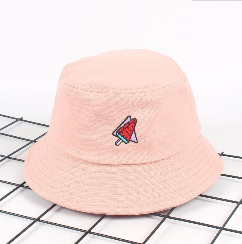Personalize cigarette embroidery bucket hat men women fishing sun hat Adult bucket  hat summer lovers flat hatUSD 7.00 piece 24ec97f4710f