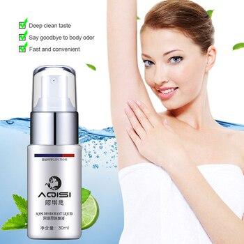 AQISI Underarm Antiperspirant Spray Body Odor Cleansing Liquid Deodorant