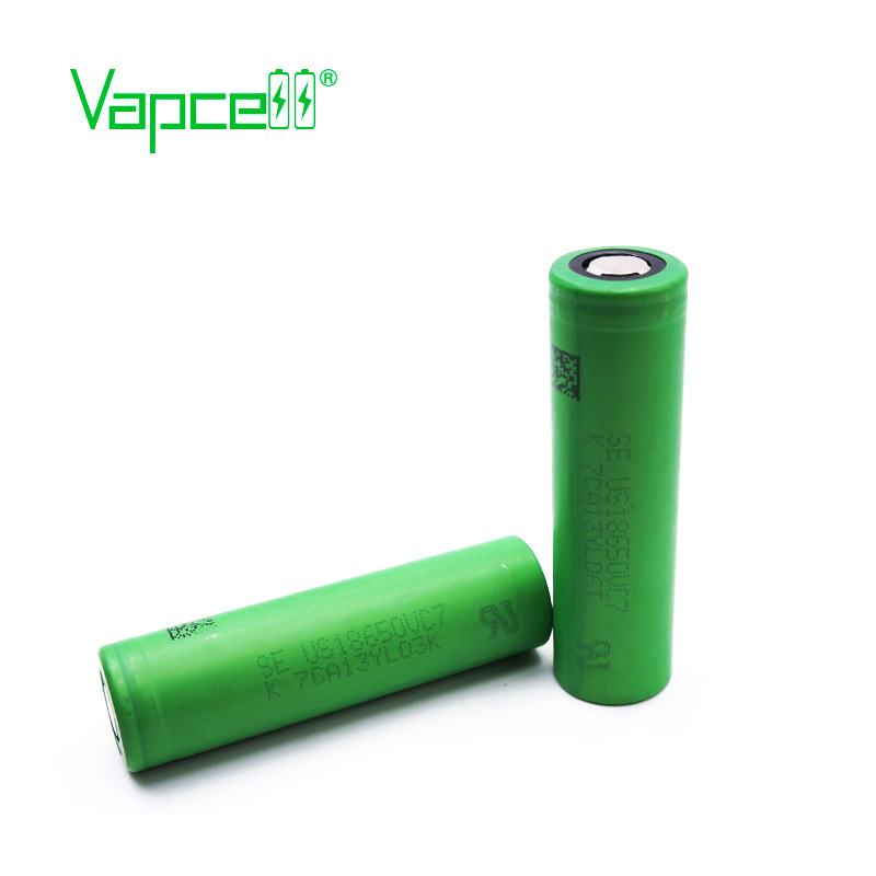 US $9 99 |Vapcell Original battery 18650 battery 3500mAh 10A 18650 VC7 and  batteries button top-in Rechargeable Batteries from Consumer Electronics on