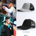 new justinbieber solid embroidery baseball cap  fashion boost 350 hip hop Bending brimmed hat Outdoor breathable men cap