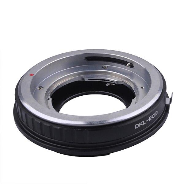 Venes pour adaptateur de montage sur DKL-EOS pour objectif Voigtlander Retina DKL vers appareil photo Canon EOS 760D 750D 5DS (R) 5D Mark III