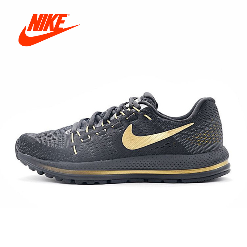 Original New Arrival Authentic NIKE AIR ZOOM VOMERO V12 Men's Breathable Running Shoes Sports Comfortable Sneakers original new arrival 2017 nike zoom condition tr women s running shoes sneakers