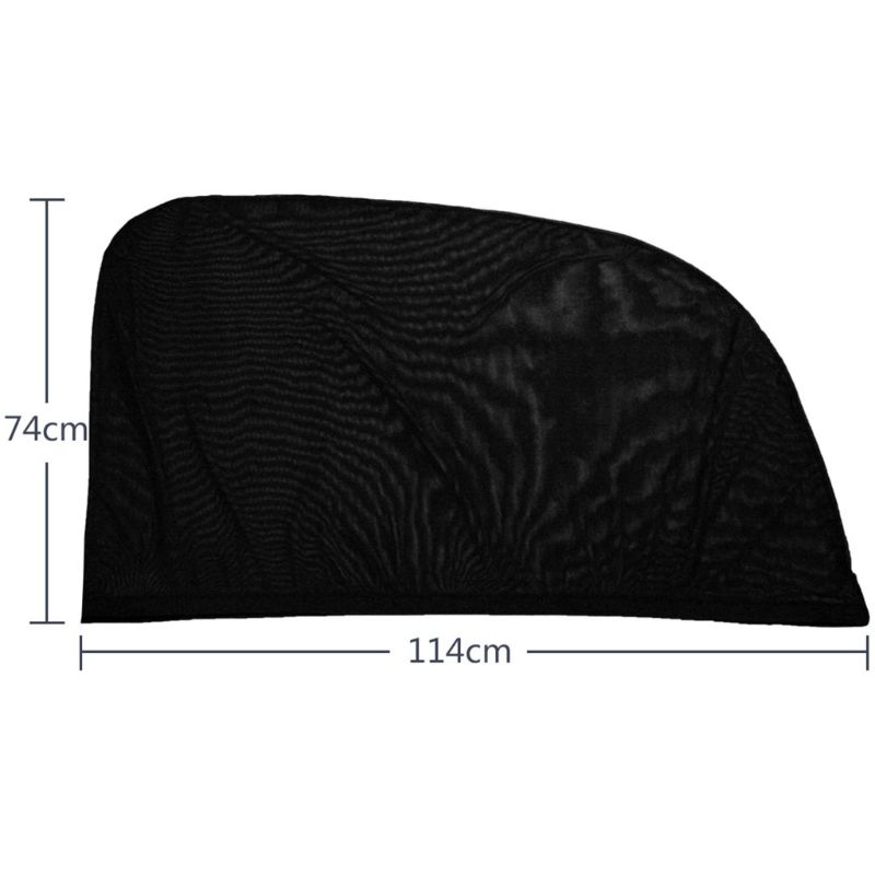 Image 2 - New Block mosquitoes Sun Shade Sox Universal Fit Baby Rear Large Car Side Window Sun Shades Travel for Car, 1 pair qyh-in Side Window Sunshades from Automobiles & Motorcycles