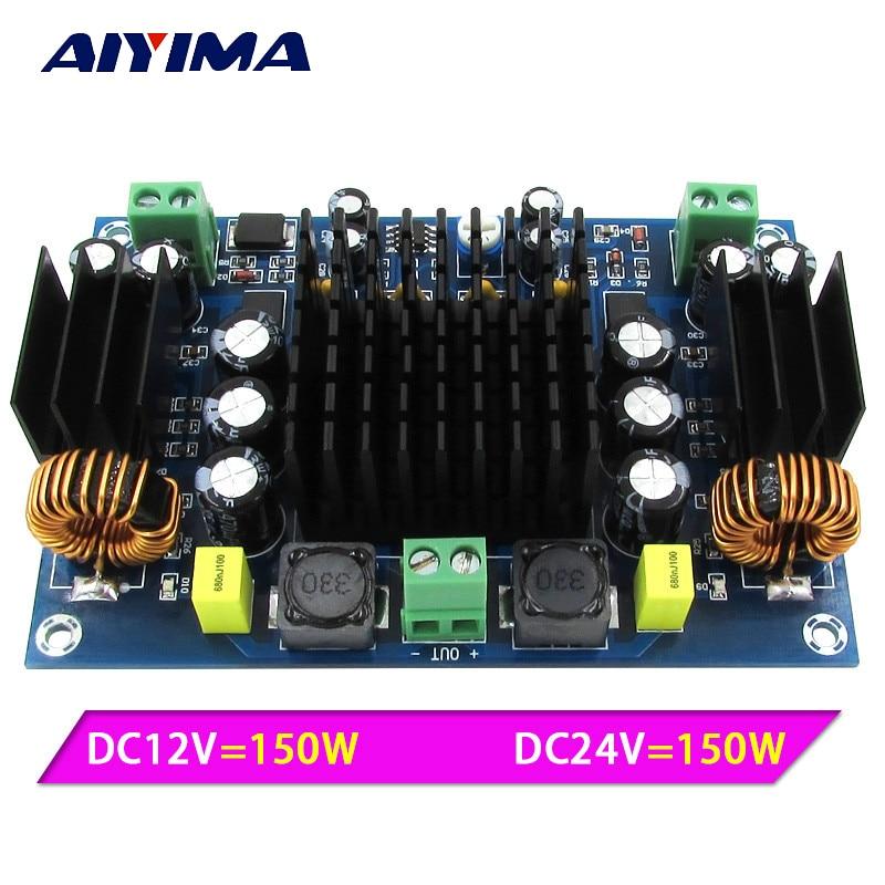Aiyima TPA3116 nagy teljesítményű autórádió erősítőtáblája Mono 150W TPA3116D2 erősítők Kettős erősítő rendszer erősítésére