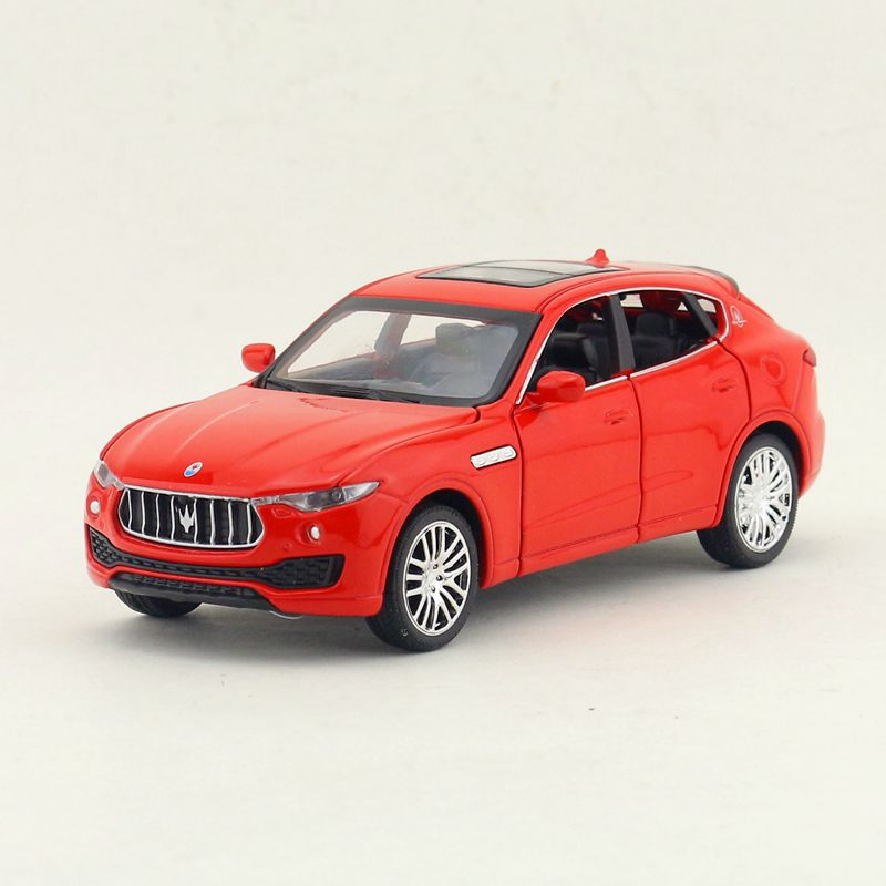 1:32 Scale/Diecast Model Toy Car/Maserati Levante SUV Super Sport/Sound & Light/Pull back/Educational Collection/Gift For Kid