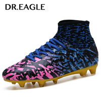 Centipede for football sports spike soccer boot superfly cleats ankle sock cotton sock football boot men trainers spike sneakers