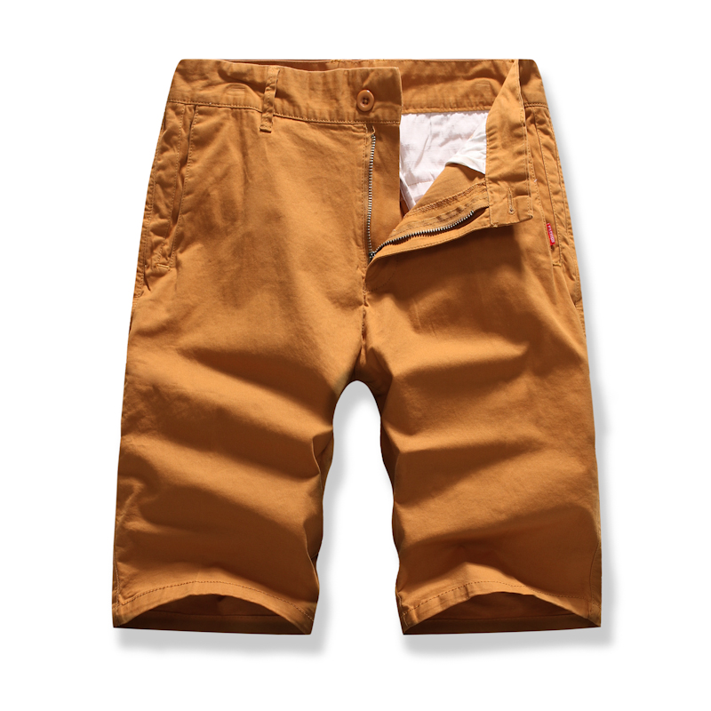 Men Straight Shorts Summer Male New Fashion Casual Solid Color High Quality Cargo Bermuda Joggers