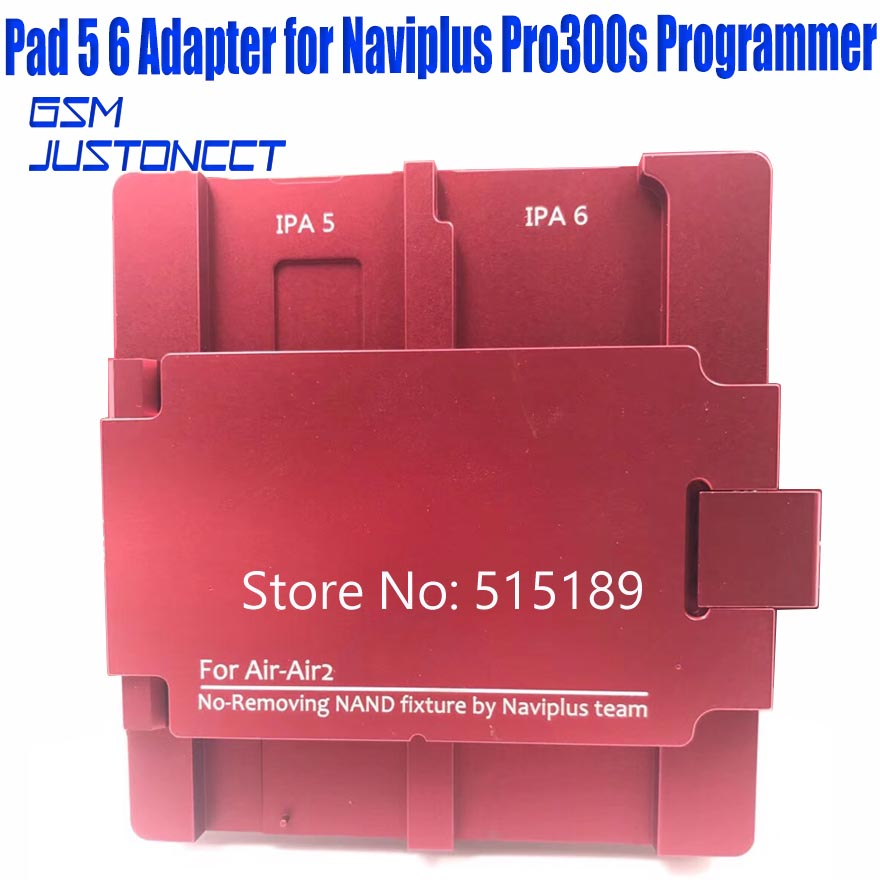 ipad 5 6 adapter for Naviplus Pro3000s programmer - GSMJUSTONCCT -A1