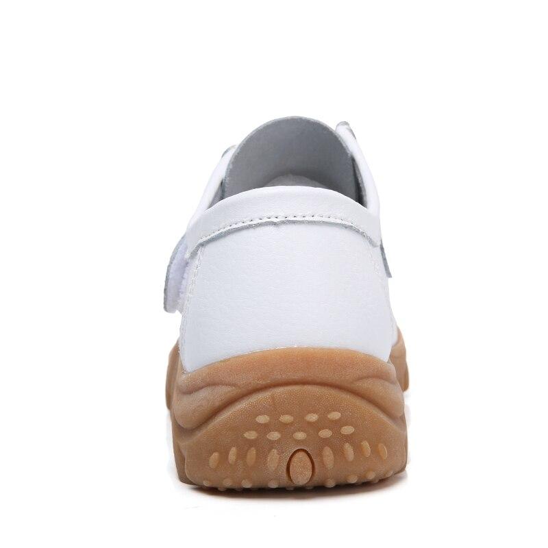 marron Sur blanc Glissement Épais Printemps Noir Cuir En 2018 Pâte Mocassins orange Eofk rouge Femme Femmes Appartements Chaussures Fond nxZXUfPq