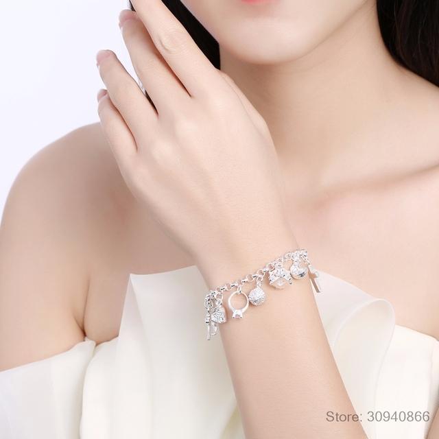 Zircon Charm Bracelets