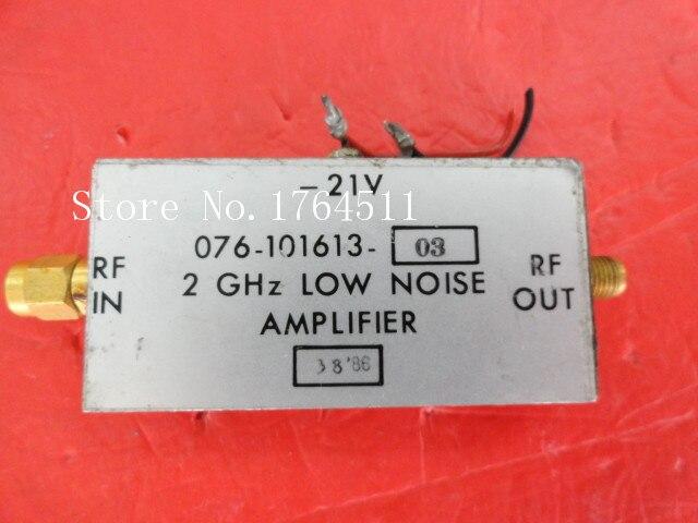 [BELLA] HARRIS 076-101613-03 2GHz 20V SMA Supply Amplifier
