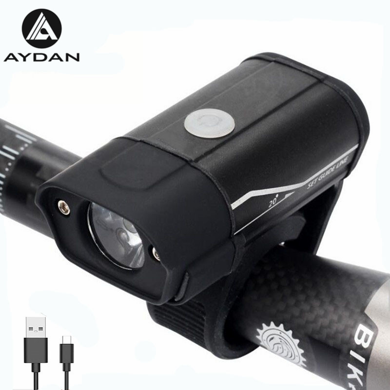 Bicycle Light USB Rechargeable Bike Front Light 350 Lumens LED Bicycle Headlight MTB Bike Flashlight Handlebar Light 5 ModesBicycle Light USB Rechargeable Bike Front Light 350 Lumens LED Bicycle Headlight MTB Bike Flashlight Handlebar Light 5 Modes