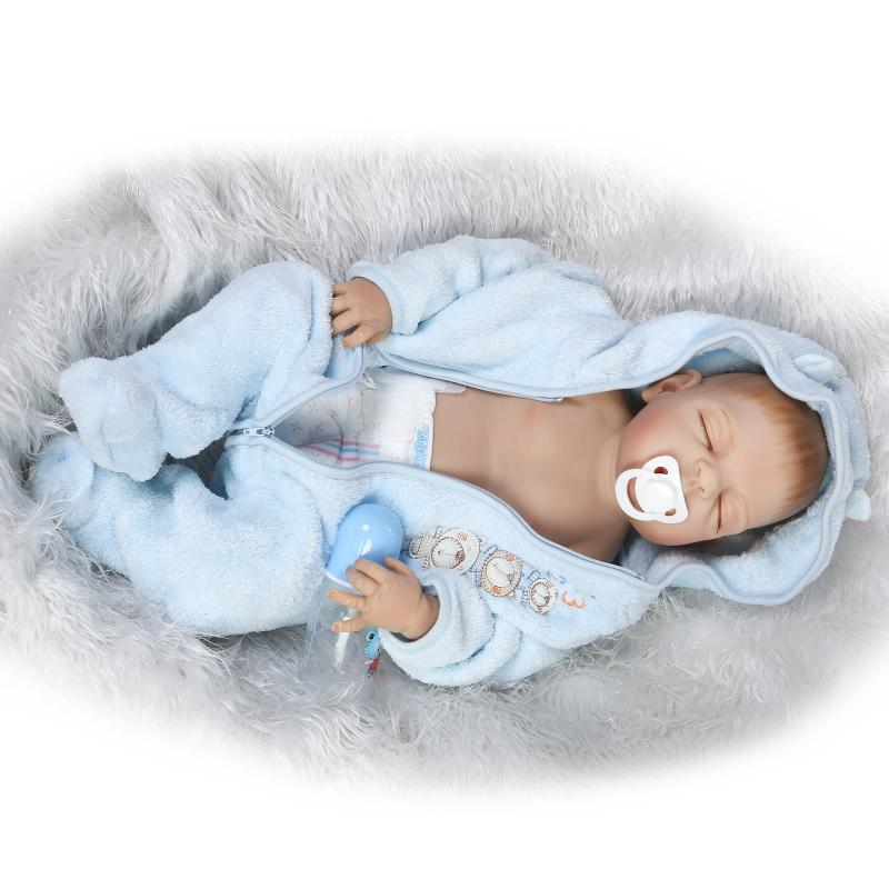 npk22 inch 57 cm silicone silicone reborn dolls reborn doll lifelike beautiful beautiful. Black Bedroom Furniture Sets. Home Design Ideas