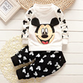 Infant clothes spring and autumn girls clothing baby boy 1 - 2 years old clothes cartoon long-sleeve set