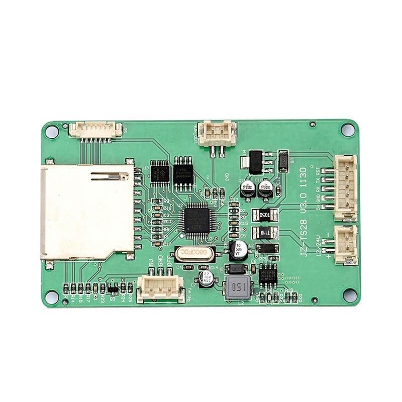 JZ-TS28 2.8 pouces Écran Tactile Couleur Conseil pour Ramps1.4 MKS Conseil 3D Imprimante Pièces ND998