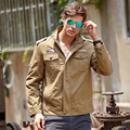 Spring Autumn Men Military Army jackets plus size M-4XL brand clothing outerwear embroidery mens jacket for flight jacket