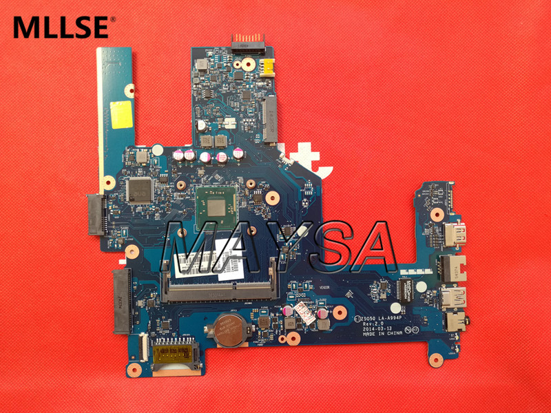 High quality laptop motherboard fit for HP Pavilion 15-R 788287-501 ZS050 LA-A994P SR1YW N3540 DDR3L 100% Fully tested high quality laptop motherboard fit for hp pavilion dv7 4000 dv7 4100 laptop motherboard 615688 001 100