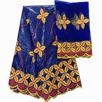 Bazin riche getzner nouveau african fabric bazin getzner brocade jacquard fabric African lace fabric for wedding dress ky2-41