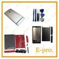 Original Para Sony Xperia P LT22I LT22 Habitação Completo Caso Capa Com Bottons + Ferramentas Substituição Gratuita de Rastreamento