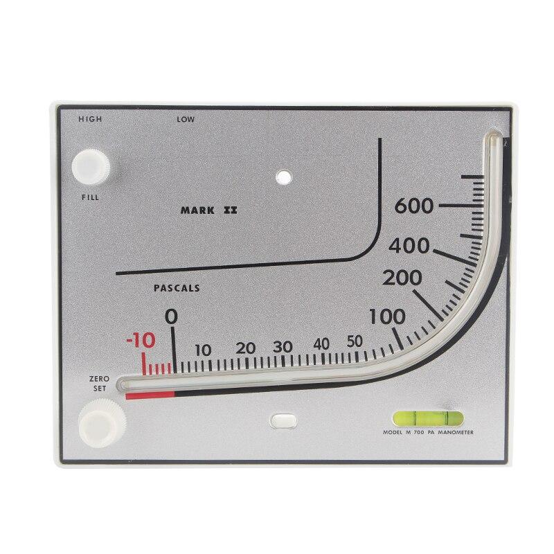 Shthde Chili oil differential pressure gauge red coil pressure gauge differential pressure meter-10~600PA pressure switch TEA700 0 1 0mpa pressure gauge yb150a zt