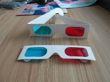 Wholesale paper Red/Blue 3D glasses for 3D movie and 3d book 4000pic with high quality and free shipping P01 th16 50 free shipping high quality lady italian matching shoes and bag set for wedding and party in wholesale