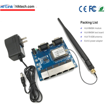 Free Shipping Hi Link HLK RM08K serial wifi module ethernet serial port UART to WIFI module MT7688K kit replace HLK RM04