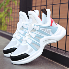Женская обувь осенние дышащие сетчатые женские кроссовки обувь кроссовки на танкетке уличные увеличивающие рост женские туфли на плоской подошве прогулочная обувь