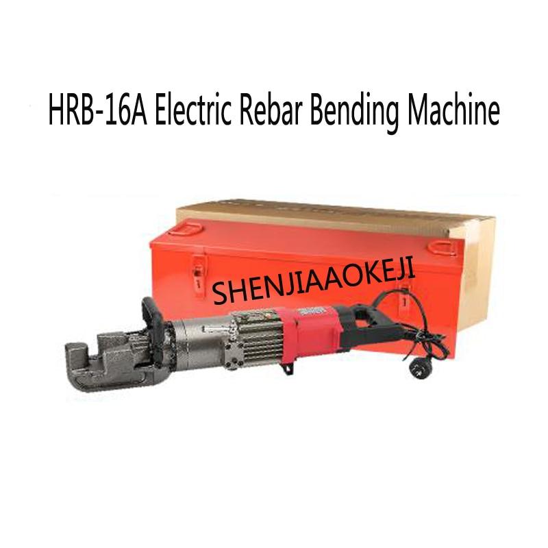 цена на Portable electric steel bending machine 220V/110V Rebar bending hydraulic machine Bendable bar diameter 4-16mm