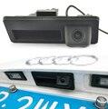 Багажнике автомобиля Ручка CCD Заднего вида Резервного Копирования Парковочная Камера для Audi A4 A6 Q3 Q5 A8L S5