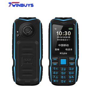 Image 1 - الأصلي KUH T3 2.4 بوصة قوة البنك الهاتف المزدوج سيم بطاقات كاميرا MP3 المزدوج مصباح يدوي كبير صوت وعرة صدمات رخيصة الهاتف المحمول