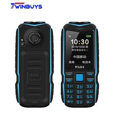 Originale KUH T3 2.4 pollici Power Bank Phone doppia Sim card fotocamera MP3 doppia torcia grande voce robusto antiurto cellulare economico