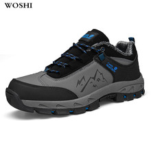 hot deal buy large size 12 winter outdoor men work safety warm shoes steel toe with men's casual shoes puncture proof labor insurance shoes 5