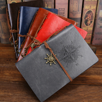 Vintage Loose Leaf Notebook School Supplies Office Supplies High End Gift