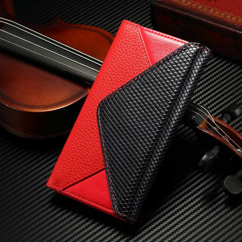 Luxury Leather Wallet Case For iPhone 7/8 Envelope Style Women Bag Flip Cover For iPhone 6 6s Phone Pouch Case