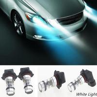 Nueva Llegada 2x Coche Auto 12 V 9006 HB4 100 W 20 SMD LED de la Niebla de La Linterna Foglight 6000 K Verdadera Lámpara de Luz Blanca bombillas