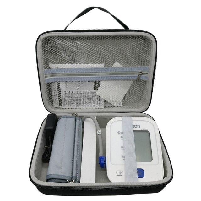 Le plus nouveau étui de couverture de sac de stockage de voyage deva pour le moniteur sans fil de tension artérielle de bras supérieur de série domron 10 (BP786/BP785N/BP791IT)