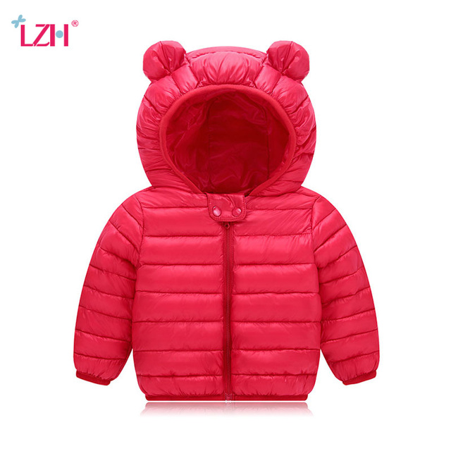 6e673d7a9 Baby Girls Jacket 2018 Autumn Winter Jacket For Girls Coat Kids Warm ...
