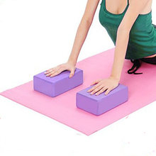 4 Colors High Quality EVA Yoga Block Brick Foaming Foam Home Exercise Fitness Health Gym Practice Tool