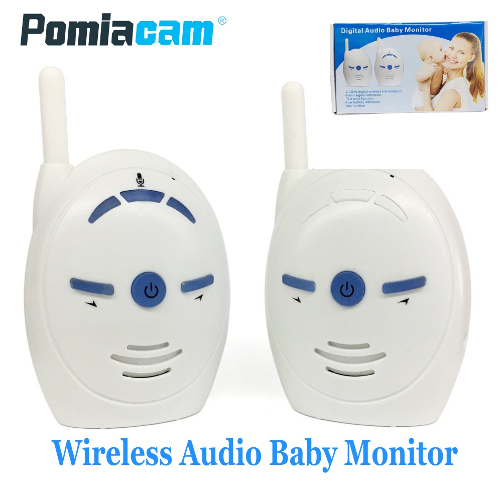 Baby Telefon 2,4 ghz Wireless Infant Baby Sound Monitor Audio Walkie Talkie Kinder Sprechanlagen Radio Nanny Babysitter Mit Mic Lautsprecher