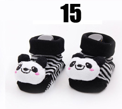 Cotton Baby Socks Christmas Socks For Newborns Gift Animal Lot Anti Slip With Rubber Soles For Child Boy Girl Newborn Baby Socks