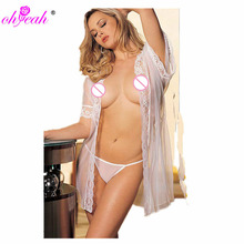 RL7814 See through sex woman lingerie white wholesale and retail breathable women sleepwear short sleeve sexy babydolls nighties