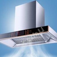 Кухня вентилятор вытяжной вентилятор большой всасывания бытовой Диапазон капот из нержавеющей стали Дымосос CXW 268 EQ07