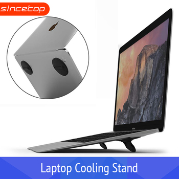 Ordinateur portable Portable support portable Durable mince et léger Macbook Cool support Portable angle d'inclinaison conception ordinateur portable ventilateur tapis de refroidissement
